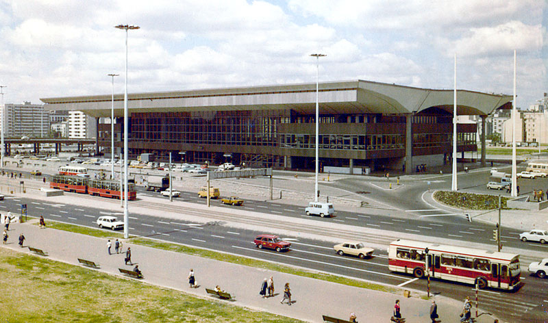 Warsaw Central railway station 1975